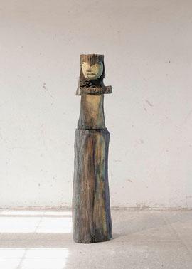 Karleo (FMG), 1999, Bronze, 6/6 Ex., Höhe 172 cm