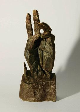Hand 51, 2005, Bronze, 9 Exemplare, Höhe 28 cm