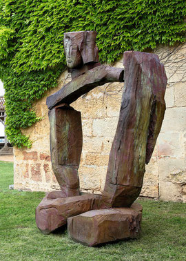Gordian VI, 2007, Bronze 6 Ex., 245 x 175 x 98 cm