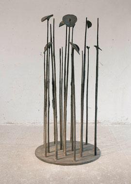Der Wald, 1993, Bronze, 2/3 Exemplare, H. 203 cm