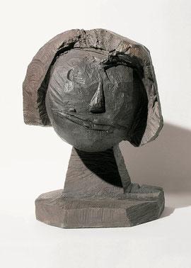 Kopf 188, 2004, Bronze, 9 Exemplare, Höhe 40 cm
