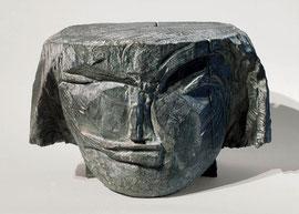 Kopf 158, 2001, Bronze, 9/9 Exemplare, Höhe 19 cm