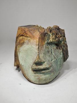 Kopf 235 B, 2014, Bronze, 9 Exemplare, Höhe 19 cm