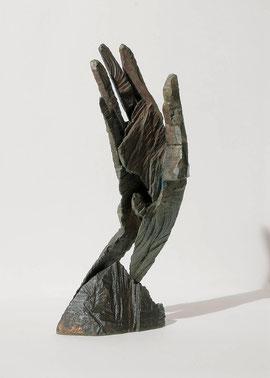 Hand 14, 2004, Bronze, 9 Exemplare H. 36 cm