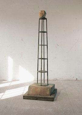 Die Schöpfung, 1993, Bronze, 0/2 Ex., Höhe 221 cm