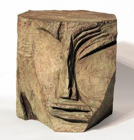 Kopf 100, 1996, Bronze, 4/9 Exemplare, Höhe 19 cm