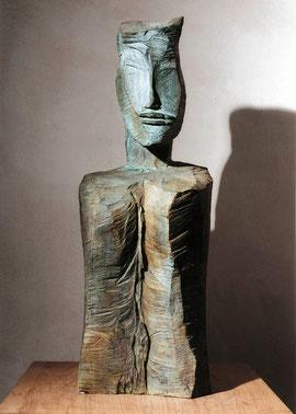 FoU (sawCH), Bronze, 1995, 6 Ex., Höhe 99 cm