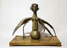 Figur 204 (Modell metamorph - seraphisch), 2010, Bronze, 9 Exemplare, 32 x 37,8 x 23,6 cm