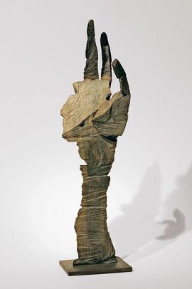 Hand 90, 2008, Bronze, 9 Exemplare, Höhe 47,3 cm