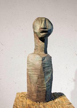 Divad, 1997, Bronze, 5/6 Exemplare, Höhe 80 cm