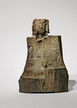 Figur 157, 2008, Bronze, 9 Exemplare, Höhe 24 cm