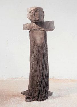 Ohne Titel (Croce), 2002, Bronze, 6 Ex., H. 175,5 cm