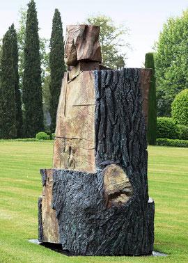 Gordian V, 2007, Bronze, 6 Ex., 245 x 190 x 170 cm