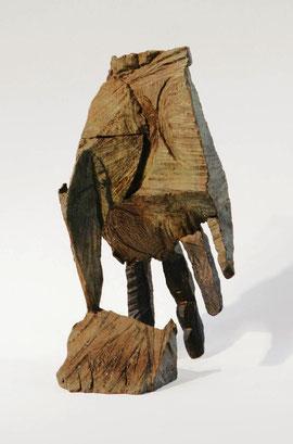 Hand 40, 2005, Bronze, 9 Exemplare, Höhe 23,5 cm