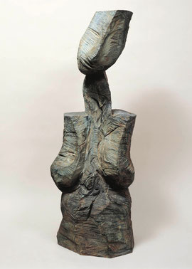 Pulte, 1997, Bronze, 6 Exemplare, Höhe 102,9 cm