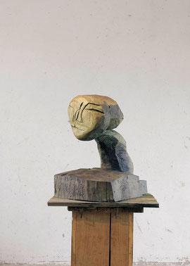 Lunarisch, 2005, Bronze, 6 Ex., 77 x 63 x 70 cm