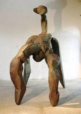 Entwurf für eine große Figur VI, 2005, Bronze, 6 Ex. 273 x 148 x 237 cm