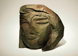 Kopf 194, 2006, Bronze, 9 Exemplare, Höhe 27 cm