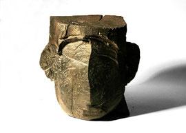 Kopf 204, 2008, Bronze, 20 x 22 x 18,5 cm