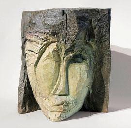 Kopf 125, 2000, Bronze, 0/9 Exemplare, Höhe 27 cm