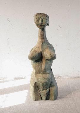 Ohne Titel (Matthiola), 2002, Bronze, 1/6 Exemplare, 158 x 60 x 54 cm