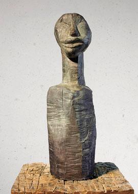SawED, 1998, Bronze, 4/6 Exemplare, Höhe 80 cm