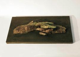 Hand 27/28 (Winter), 2005, Bronze, 9 Ex., 7 x 49,8 x 25,5 cm