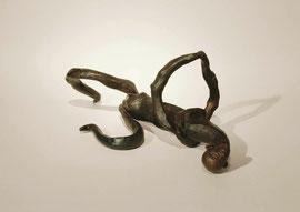 Figur 131, 2006, Bronze, 9 Ex., 15 x 38 x 19 cm