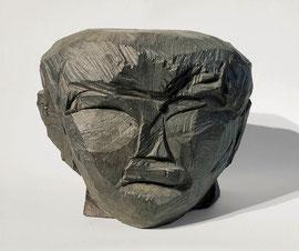Kopf 160, 2001, Bronze, 1/9 Exemplare, H. 22,5 cm