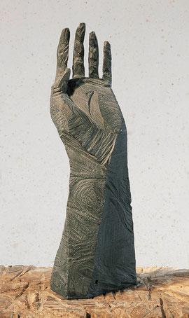 Hand 2002, 2002, Bronze, 9 Ex., 46 x 15 x 15 cm