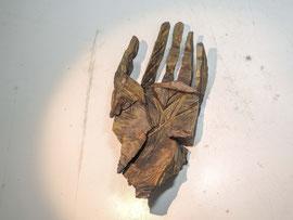 Hand 105, 2017, Bronze, 6,8x28,5x13cm, 9Ex