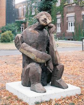Nighthart (Neidhart Melancholicus), 2001, 6 Ex., Bronze, Höhe 191 cm