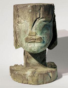 Kopf 118, 1999, Bronze, 0/9 Exemplare, Höhe 36 cm