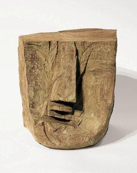 Kopf 47, 1992, Bronze, 8/9 Exemplare, Höhe 19 cm