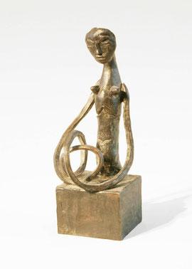 Figur 150, 2007, Bronze, 9 Exemplare, Höhe 22,2 cm