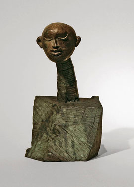Figur 186, 2008, Bronze, 9 Exemplare, Höhe 20 cm