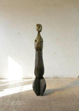Empty Spoon VII, 2006, Bronze, 6 Ex., Höhe 160 cm