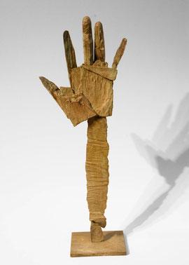 Hand 57, 2007, Bronze, 9 Exemplare, Höhe 46,2 cm