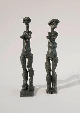 Figur 108 & Figur 109, 2004, je 9 Exemplare