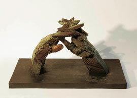 Hand 31/32 (Herbst), 2005, Bronze, 9 Ex., 26 x 49,8 x 25,5 cm