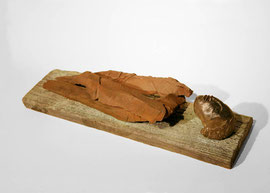 Figur 176, 2008, Bronze, 9 Exemplare, 8,5 x 41,5 x 11,5 cm