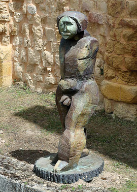 Gifur Mada, 2001, Bronze, 2/6 Exemplare, 245 x 100 x 98 cm