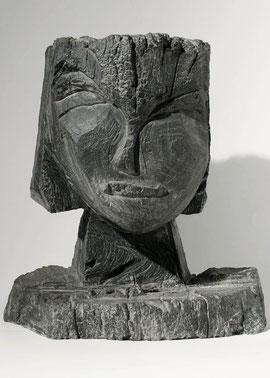 Kopf 165, 2002, Bronze, Höhe 36 cm