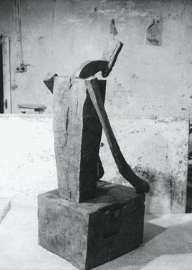 Solafam, 1998, Bronze, 6 Ex., 174 x 74 x 76,68 cm