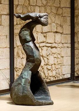 Empty Spoon I, 2006, Bronze, 6 Exemplare, 210 x 104 x 82 cm