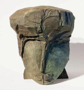 Kopf 174, 2002, Bronze, 9 Exemplare, Höhe 27 cm