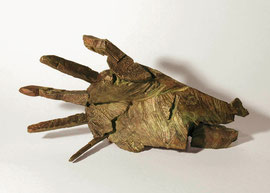 Hand 49, 2005, Bronze, 9 Ex., 8,3 x 31 x 14,8 cm