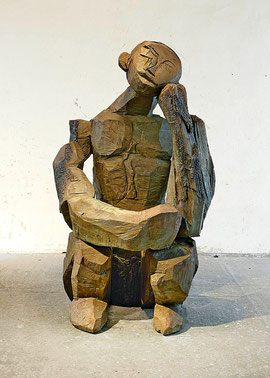 Nighthart II, 2008, Bronze, 6 Ex., 187 x 120 x 135 cm
