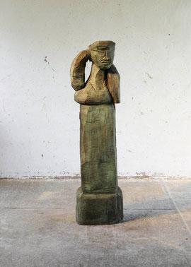 Stele Erima, 2006, Bronze, 6 Exemplare, H. 168 cm
