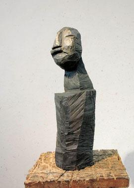 GNo, 1997, Bronze, 0/6 Exemplare, Höhe 73 cm